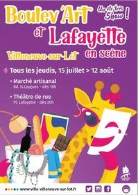Boulev'art et Lafayette en scène
