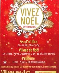 Vivez Noël en Villeneuvois : Patinoire