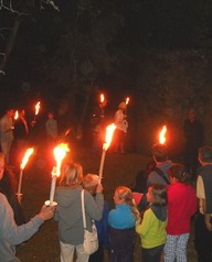 Balade contée et musicale aux flambeaux