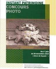 """Instant Patrimoine : Concours photo """"Patrimoine architectural - Le décor en façade"""""""
