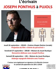 Rencontre-dédicace avec Joseph Ponthus