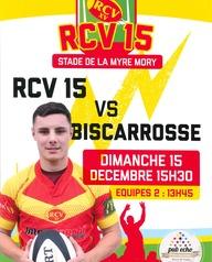Rugby à XV : RCV reçoit Biscarosse