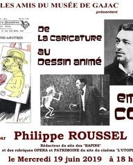 Conférence Emile Colh par Phillipe Roussel