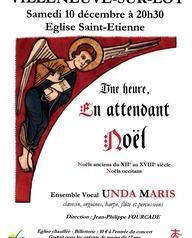 Unda Maris chante Noël à Saint-Etienne!