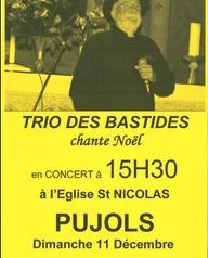 Trio des Bastides chante Noël