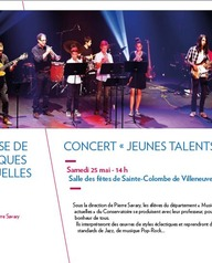 """Classes musiques actuelles - Concert """"Jeunes talents"""""""