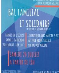 Bal familial et solidaire
