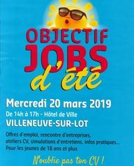 Objectif jobs d'été