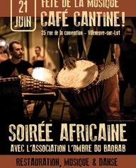 Fête de la musique - Soirée Africaine