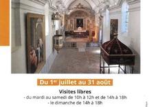 Visites commentées de la chapelle des Pénitents blancs - Villeneuve-sur-Lot