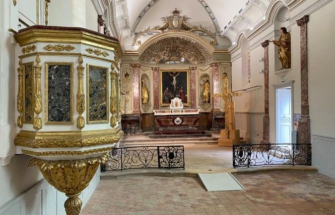 Visites commentées de la chapelle des Pénitents blancs 2 - Villeneuve-sur-Lot
