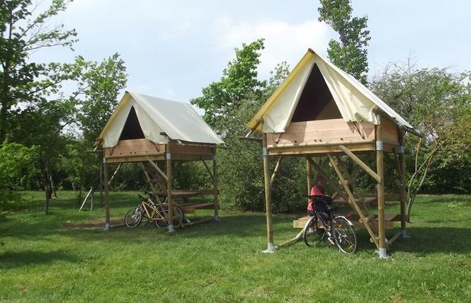 Camping Lot et Bastides 10 - Pujols