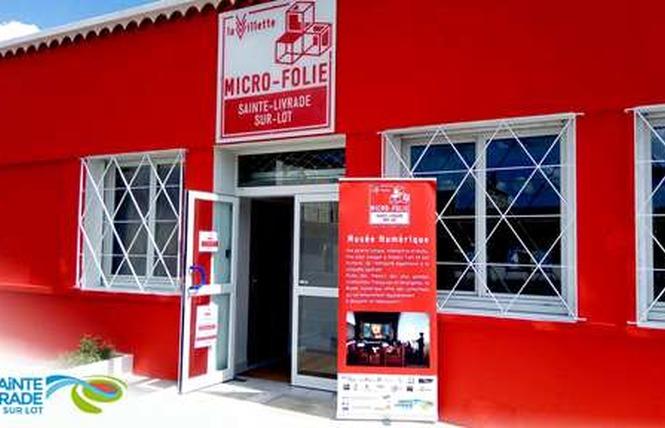 La Micro Folie 1 - Sainte-Livrade-sur-Lot