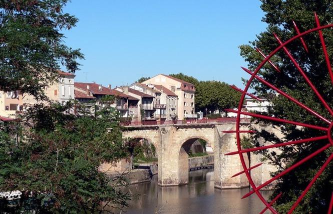 Villeneuve-sur-Lot Bastide fluviale 1 - Villeneuve-sur-Lot