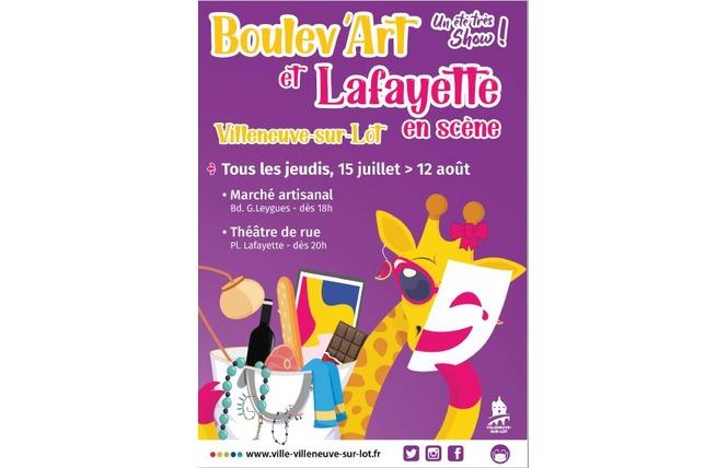 Boulev'art et Lafayette en scène 1 - Villeneuve-sur-Lot