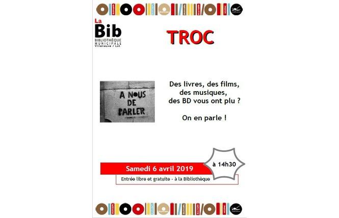 La bib - Troc 1 - Villeneuve-sur-Lot